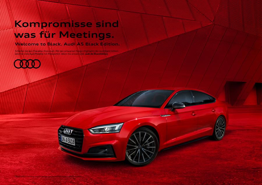 Audi   Black Edition