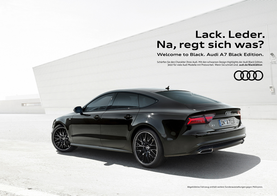 Audi | Black Edition
